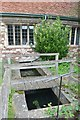 TM0023 : Bourne Mill - Leat by Ashley Dace