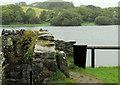 J5047 : Bollard, Downpatrick by Albert Bridge