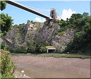 ST5673 : Avon Gorge with tunnel & bridge - BS8 by David Hallam-Jones