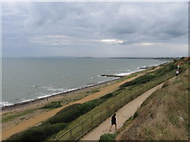 SZ2492 : Barton on Sea, August bank holiday by Alex McGregor