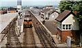 N3324 : Tullamore station (1982) by Albert Bridge