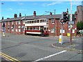 SJ3289 : Liverpool 762 in Shore Road by Carolyn M Howard