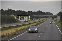 ST4718 : South Somerset : The A303 by Lewis Clarke