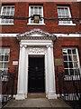 SU4996 : Georgian Doorway, Abingdon by Colin Smith