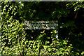 TQ5162 : Meenfield Wood sign by Ian Capper