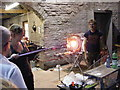 SO8986 : Blowing Glass by Gordon Griffiths