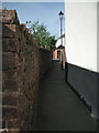 SX9372 : Alley from Bridge Road to Shoreside by Robin Stott
