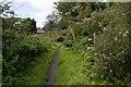 SW5434 : Bridlepath approaching Battery Mill by Elizabeth Scott