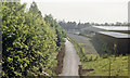 SO9322 : Site of Cheltenham Spa Malvern Road station, 1986 by Ben Brooksbank