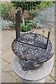 SK8133 : Heliochronometer at Belvoir Castle by J.Hannan-Briggs