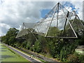 TQ2783 : The Snowdon Aviary, ZSL London Zoo by pam fray
