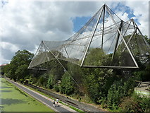 TQ2783 : The Snowdon Aviary, ZSL London Zoo by pam fray