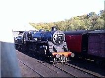 NZ8204 : BR Standard Class 4 locomotive 76079 by Andrew Abbott