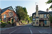 TQ4655 : The Old Church and The Bull Inn by Ian Capper