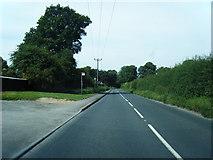 SU5751 : Andover Road looking west by Colin Pyle