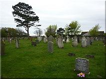 SD1578 : St Luke's Church, Haverigg, Graveyard by Alexander P Kapp