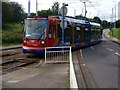 SK4182 : Supertram joining reserved track by Graham Hogg