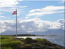 NM8632 : Union flag flying by Gordon Hatton