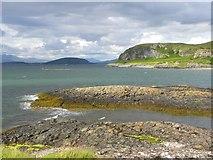 NM8632 : Across Ganavan Bay by Gordon Hatton