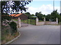 TM2241 : The entrance to Mansfield Park Business Centre by Geographer