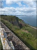SX9456 : Disused quarry on north side of Berry  Head by David Smith