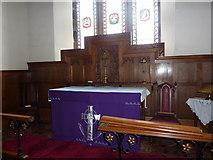 SD0799 : St Peter's Church, Drigg, Altar by Alexander P Kapp
