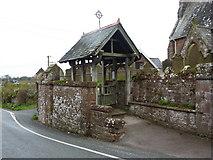 SD0799 : St Peter's Church, Drigg, Lychgate by Alexander P Kapp