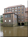 SE7155 : Former Corn Mill, Stamford Bridge by Pauline E