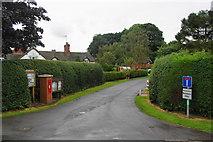 SJ9824 : Ingestre village by Bill Boaden