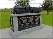 SK1814 : The Railway Industry Memorial by Andrew Abbott