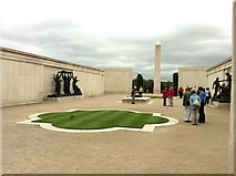 SK1814 : Armed Forces Memorial by Andrew Abbott