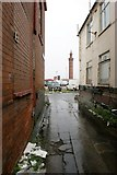 TA2711 : Dock Tower, Grimsby by Dave Hitchborne