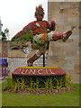 ST1876 : Floral Footballer (Olympics Display) by David Dixon