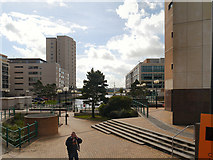 ST1974 : Cardiff Dock Area by David Dixon