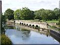 SK7953 : Longstone Bridge  by Alan Murray-Rust