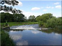 SK7953 : Newark Weir  by Alan Murray-Rust