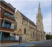 TQ3580 : Shadwell, St. Mary's by Mike Faherty
