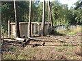 SU8968 : Concrete railway shelters by Alan Hunt