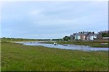 SH3568 : Afon Ffraw estuary, Aberffraw by Paul Buckingham