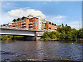 ST1874 : River Taff, Clarence Road Bridge by David Dixon