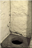 R4560 : Bunratty Folk Park - Site #4 - Castle - Toilet in Tower by Suzanne Mischyshyn