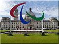 ST1876 : Agitos, Cardiff City Hall by David Dixon
