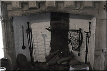 R4560 : Bunratty Folk Park - Site #4 - Castle - Fireplace by Suzanne Mischyshyn