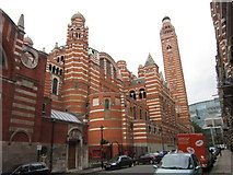 TQ2979 : Westminster Cathedral by Ian S