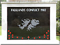 ST1877 : Falklands Campaign War Memorial (close up) by David Dixon