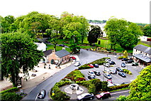 R4560 : Bunratty Castle - SE Tower View - Bunratty Village Mills, Castle Hotel, Pub by Suzanne Mischyshyn