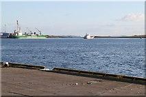 HU4642 : Holmsgarth Ferry Terminal by Graeme Smith