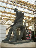 TQ3179 : Cuneo Statue, Waterloo Station, London SE1 by Christine Matthews