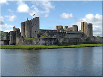 ST1587 : Caerphilly Castle by David Dixon
