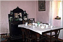 R4560 : Bunratty Folk Park - Site #7 - Shannon Farmhouse = Dining Room by Suzanne Mischyshyn